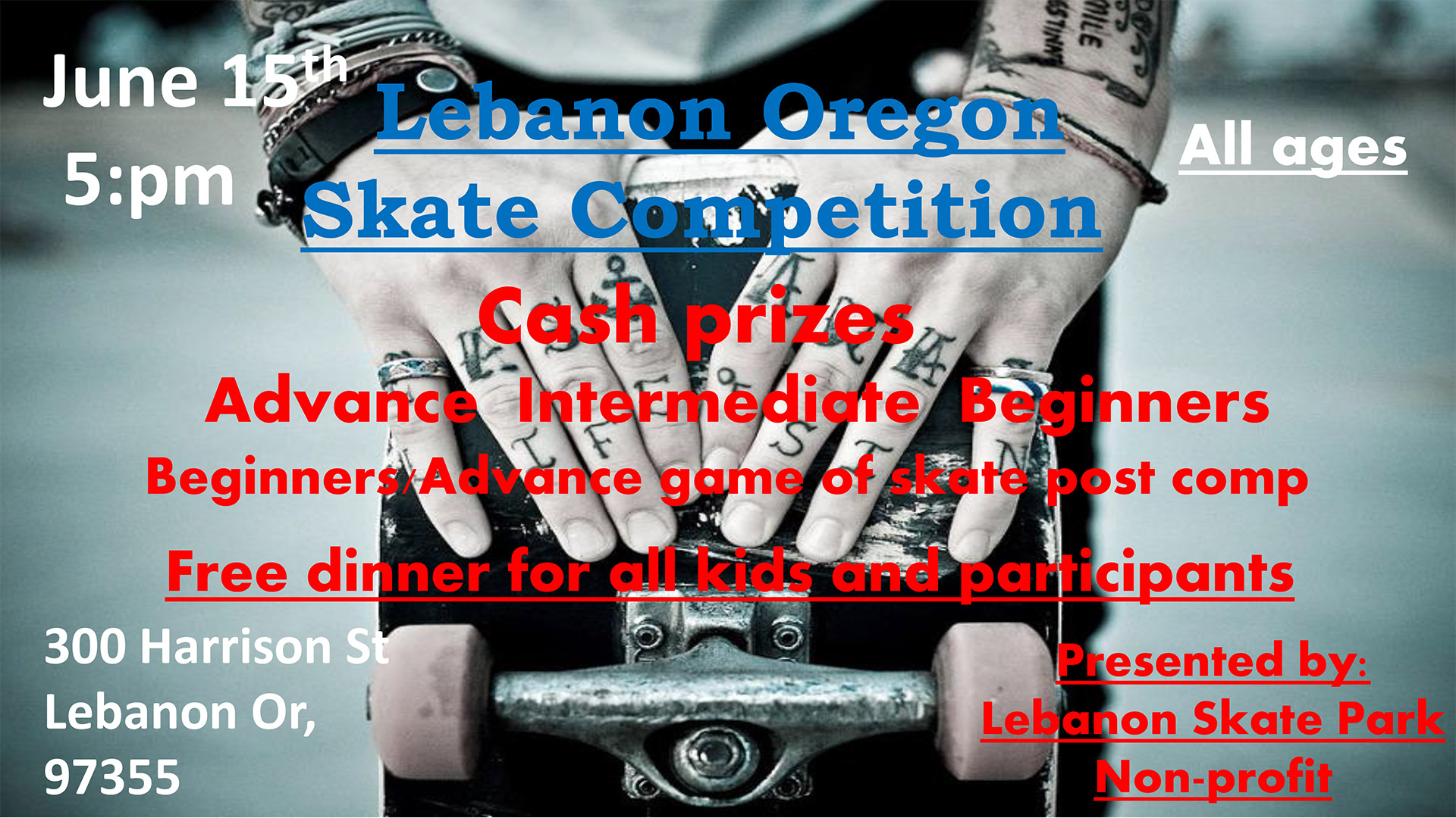 Skate Comp June 2019